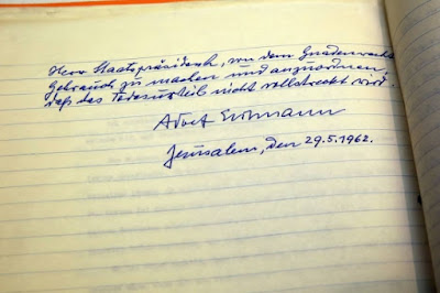 Israel revela carta de  Eichmann com pedido de clemência