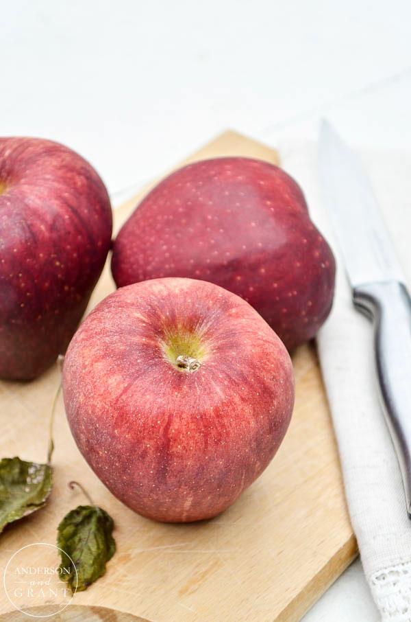 Juicy fall apple