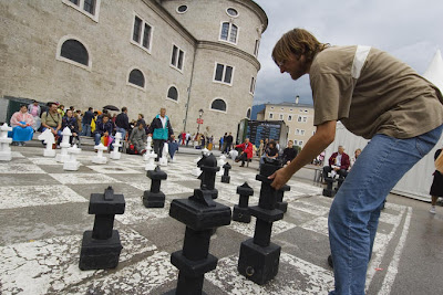 Chess game, Salzburg