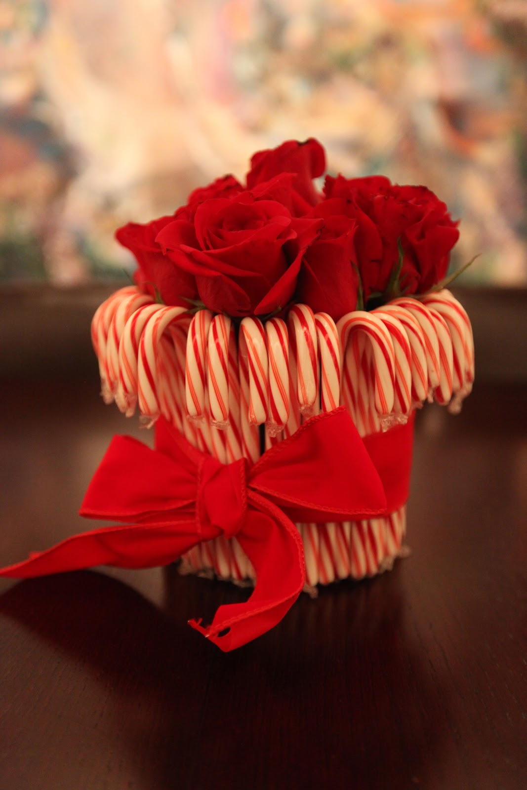 Oh that annelie diy project candy cane centerpiece
