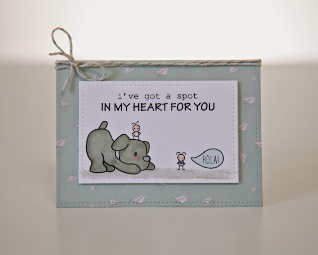Small Talk--Mama Elephant Stamp Highlight