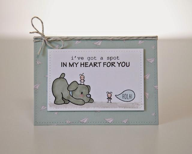 Small Talk--Mama Elephant Stamp Highlight