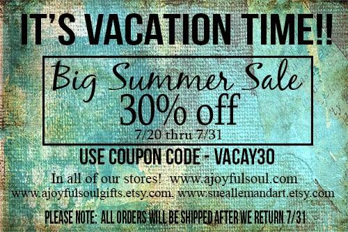 A Joyful Soul Summer Sale, www.ajoyfulsoul.com