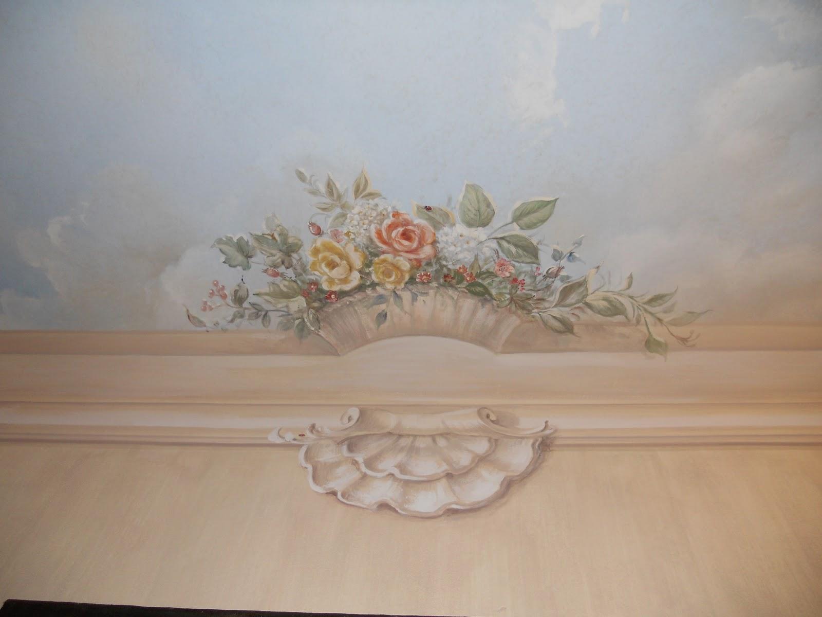 Il soffitto senza soffitto decorazioni pittoriche