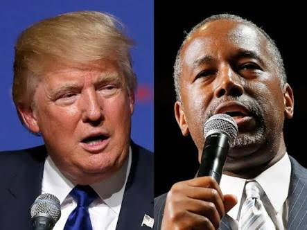 donald trump and dr carson
