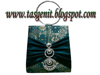 tas pesta songket evening bags