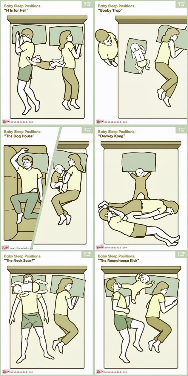 Baby Sleep Positions Damn Cool Pictures
