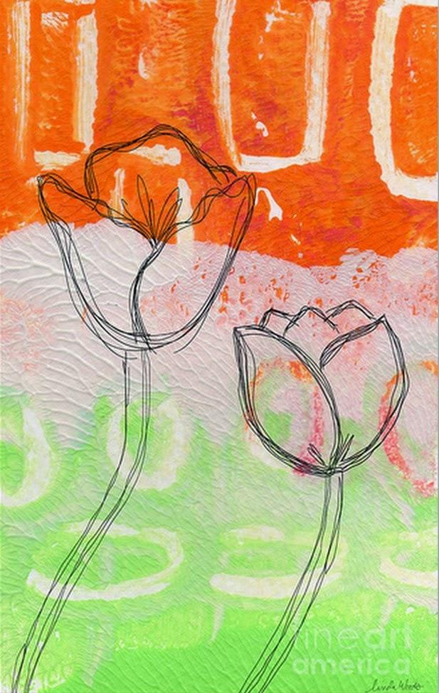flores-diseños-fáciles-de-cuadros-modernos