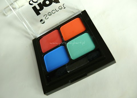 Hot Colors Eye Shadow Palette, My Secret