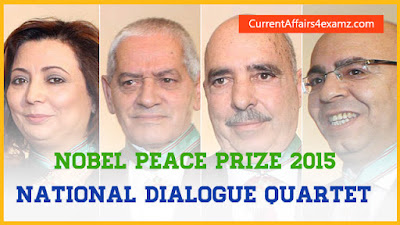 Nobel Peace Prize 2015