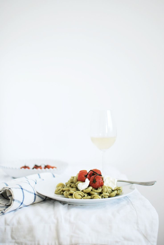 Pesto Cappelletti recipe by In The Mood For Food.