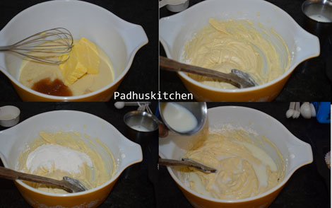 how to make eggless cake 