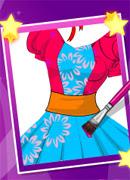 Дизайн платья - Онлайн игра для девочек