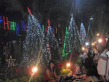 Juletre gruppe, Pattaya.