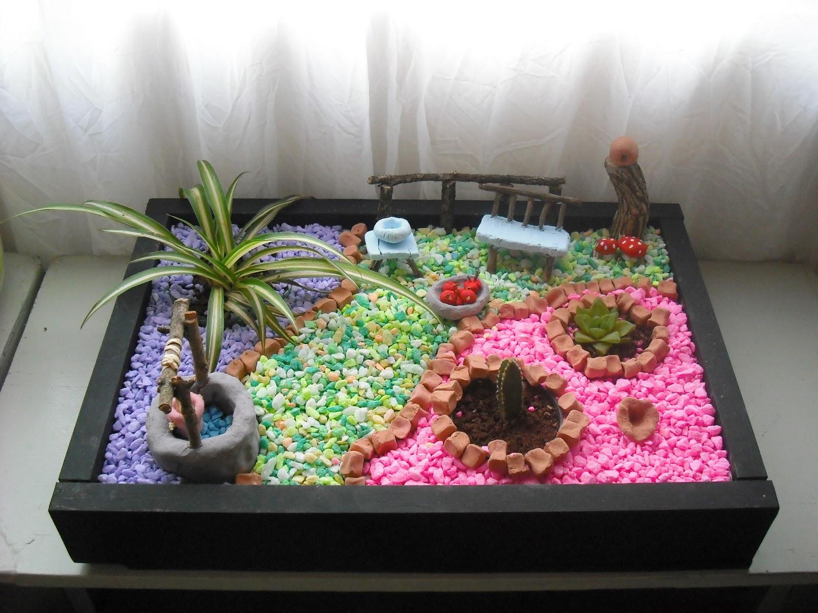 artesanato mini jardim:CASA'ART: MINI JARDIM II
