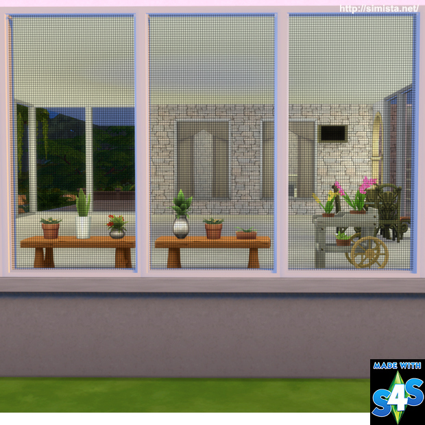 My sims 4 blog mesh screen window by mr s simista for Window mesh screen