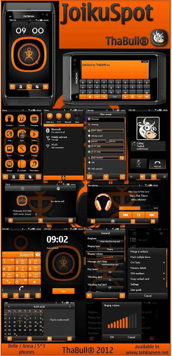 symbian 3 anna belle free theme download joikuspot by thabull symbian ...