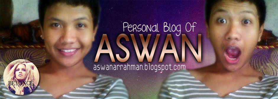 Aswan's Blog