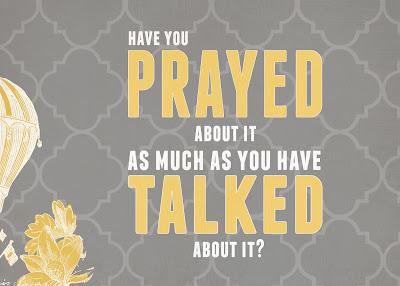 Pray About It