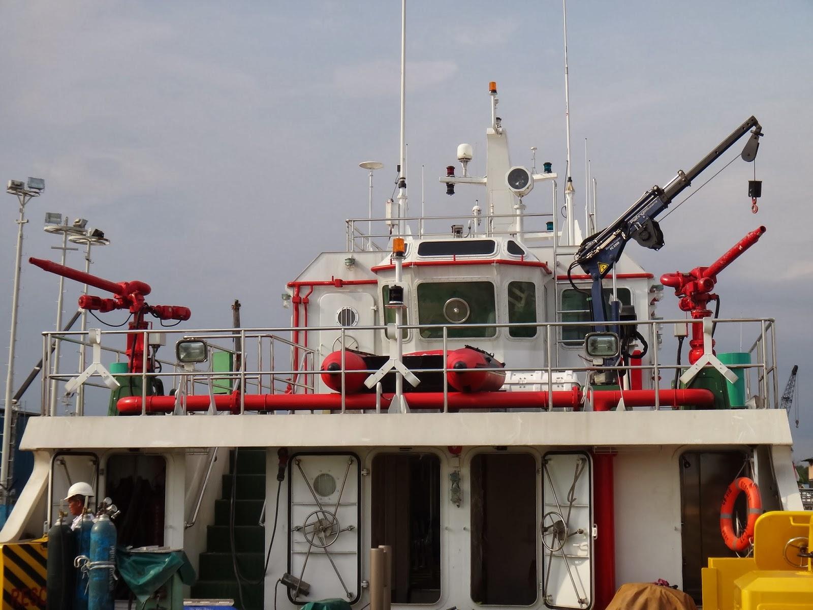 Sistem pemadam kebakaran kapal