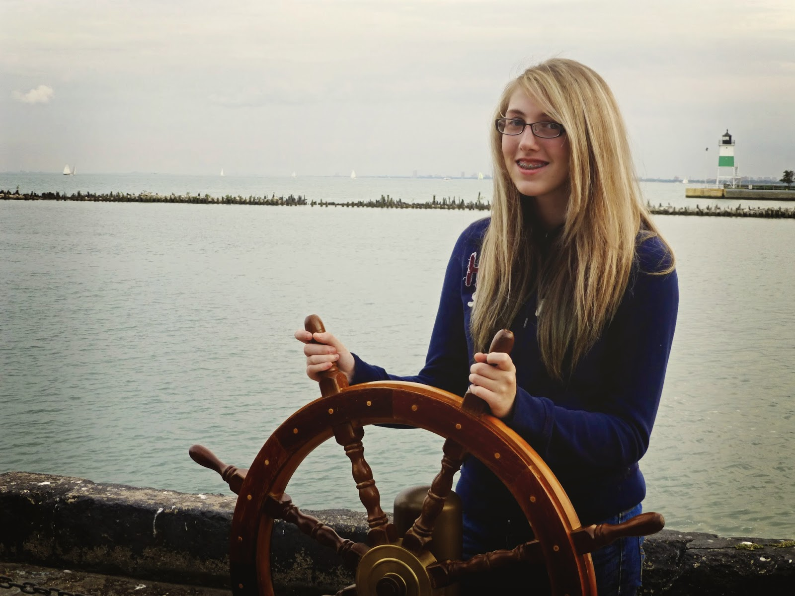 sailing girl