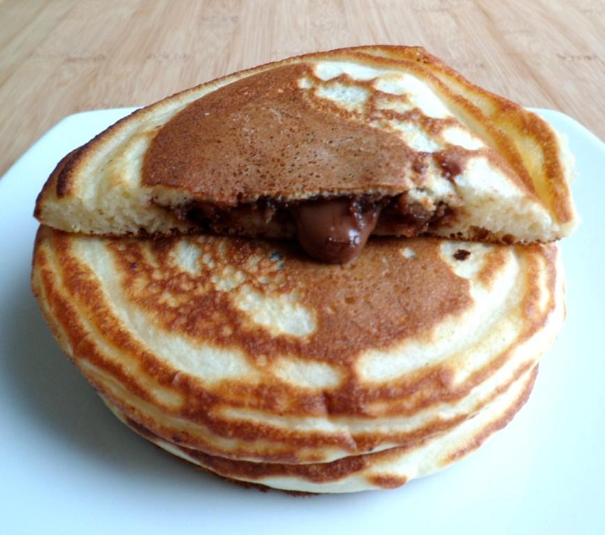 Les Crocs Du Loupinet Pancakes Fourres Au Nutella