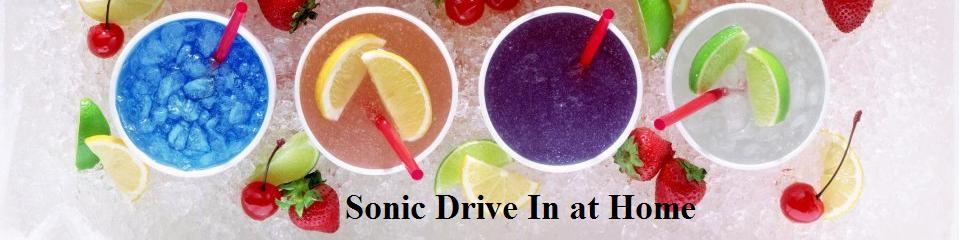 Sonic Drive In Restaurant Copycat Recipes