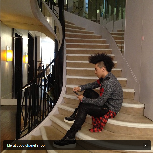 taeyang coco chanel's apartment 130629