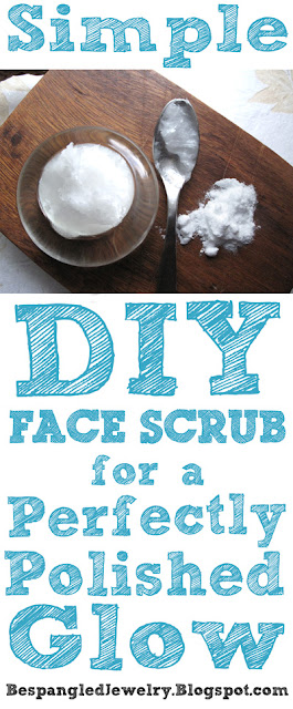 DIY Beauty recipe: simple baking soda face scrub for a perfectly polished glow