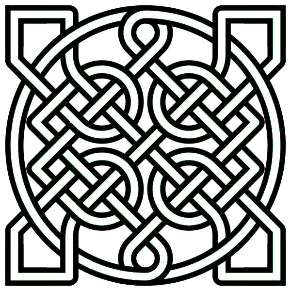 Celtic Knot Colouring Pages