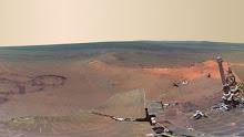 Primeira foto panorâmica de Marte