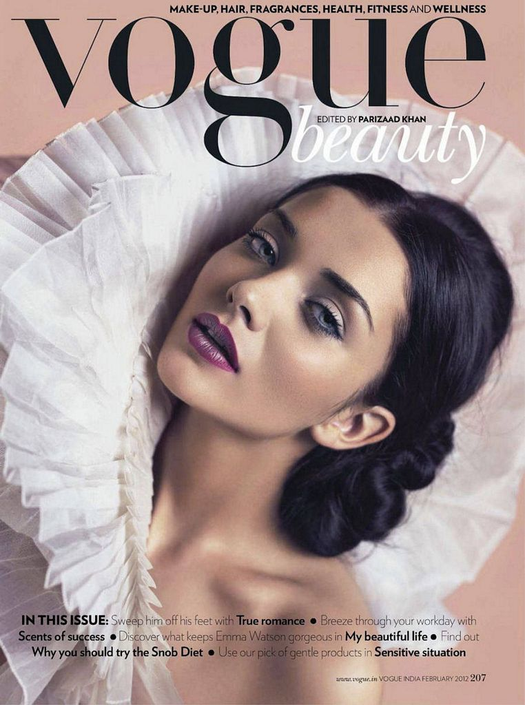 amy jackson vogue shoot