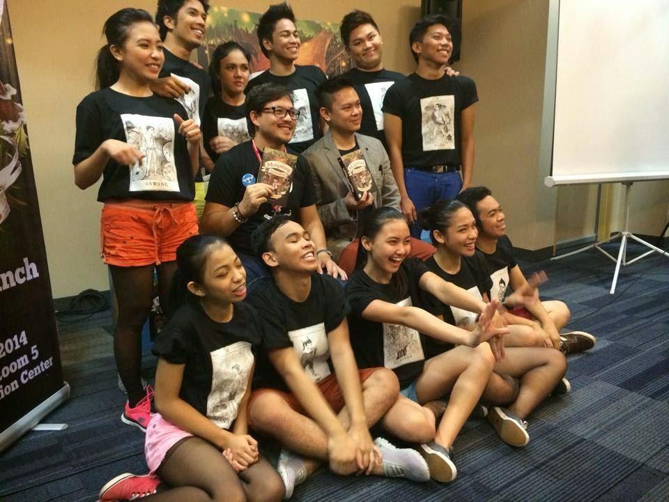 Lampara Books Launches Moymoy Lulumboy Ang Batang Aswang
