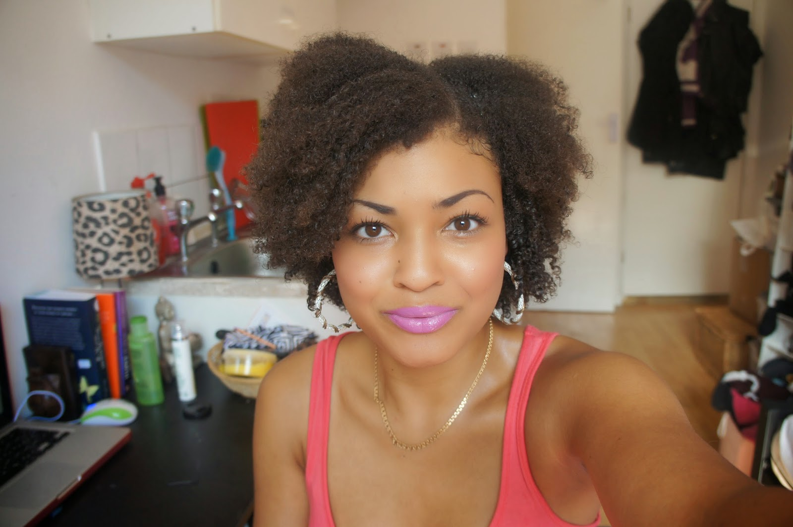 Wash and Go Routine for afro hair 3C/4A/4B/4C using Mixed Roots Curl Custard