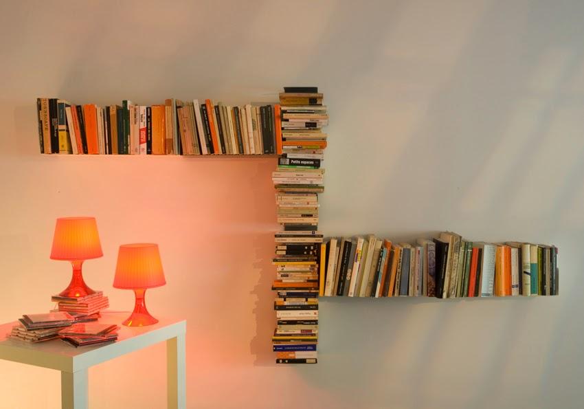 Полочки из книг своими руками фото