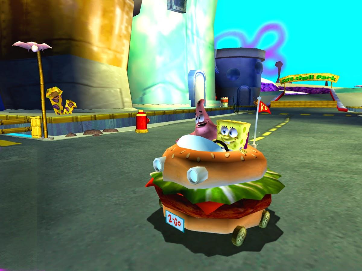 Games Spongebob Squarepants Car