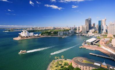 Sidney, Australia. - Vista panorámica desde las alturas