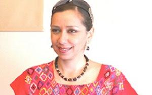La ex priísta Maria Elena Orantes, candidata de las izquierdas al gobierno de Chiapas.