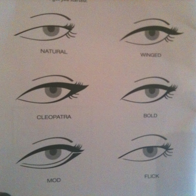 different eyeliner styles for different eye shapes eye