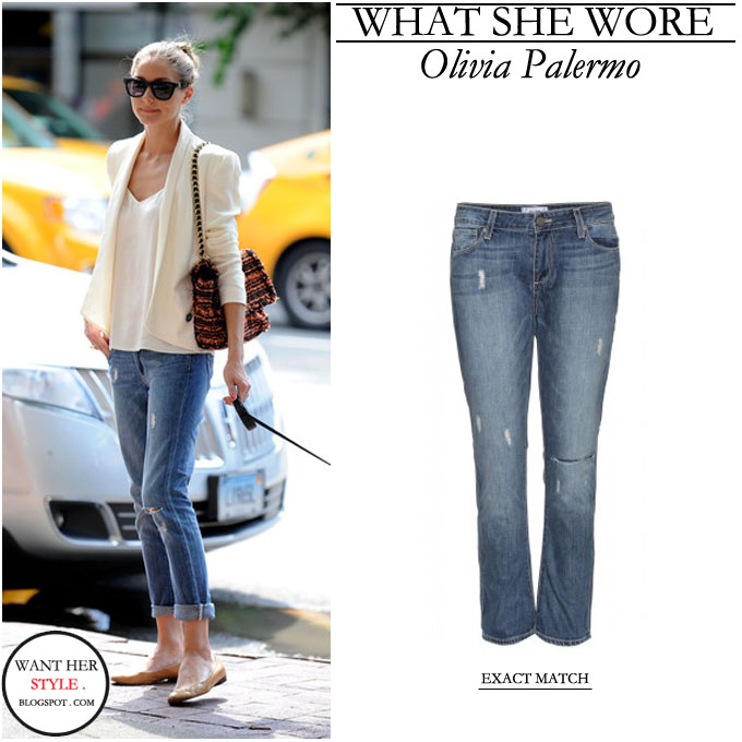 How to Wear Boyfriend Jeans  Celebrities in Boyfriend