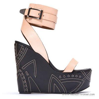 obuv barbara bui vesna leto 2011 20 Жіноче взуття від Barbara Bui