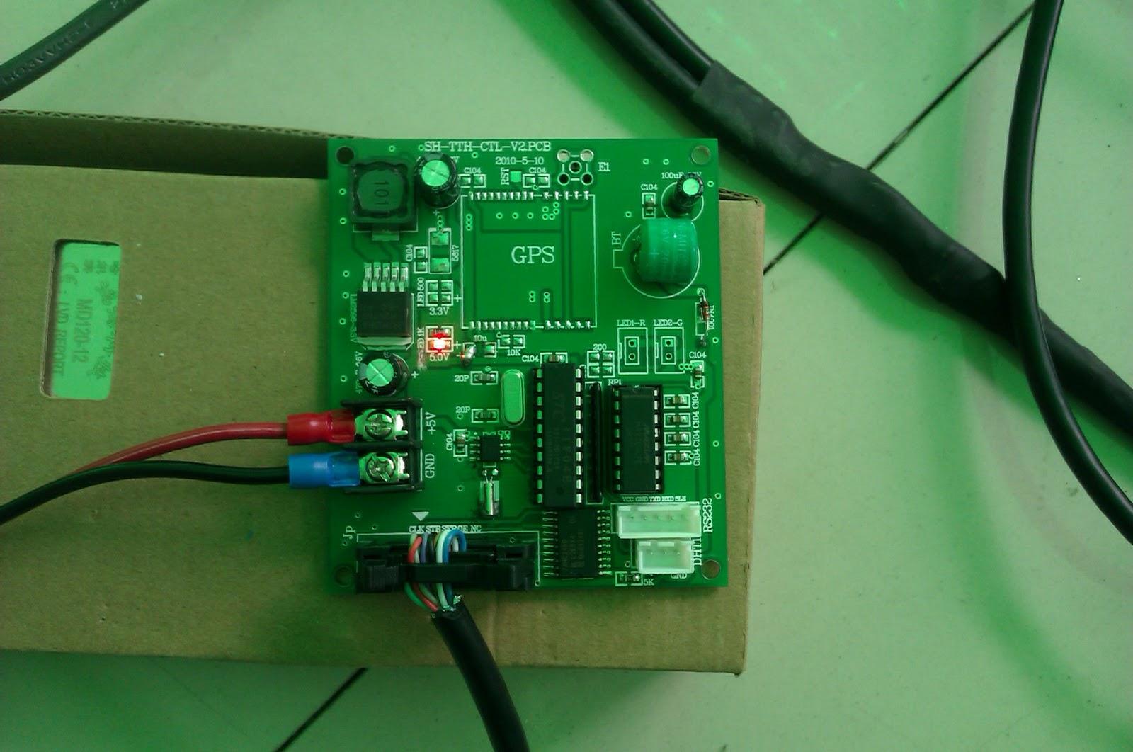 Led Display Digital Board Circuit Images Of