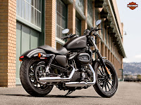 2013 Harley-Davidson XL883N Iron 883 gambar motor - 1