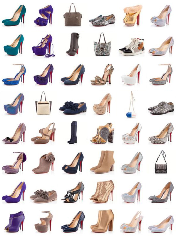 christian louboutin bags and shoes