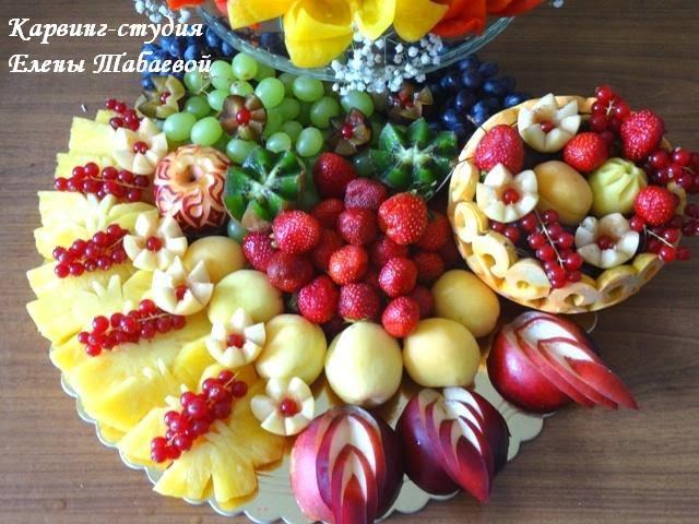 оформление фруктовыми композициями на заказ южно-сахалинск