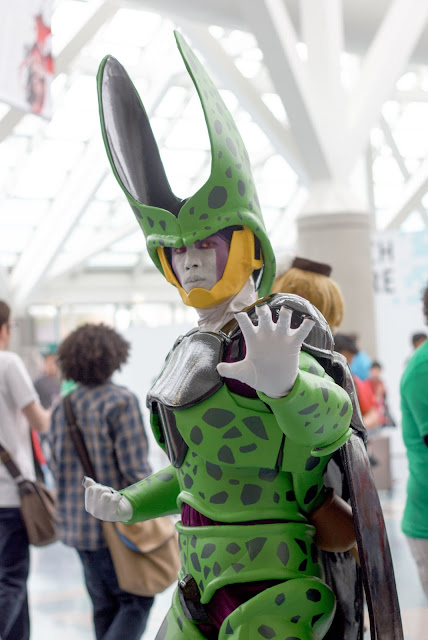 Perfect Cell Cosplay