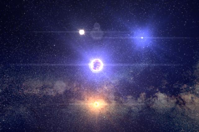 Jelajah ke 100.000 Bintang