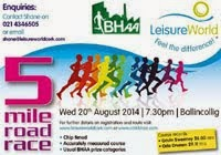 Wed 20th Aug. BHAA 5m in Ballincollig