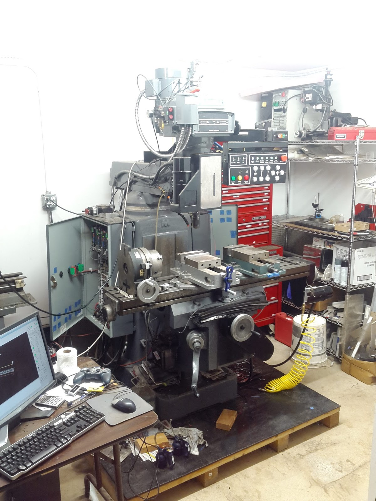 cnc milling machine projects
