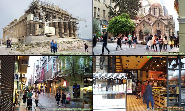 Atenas e seus atrativos